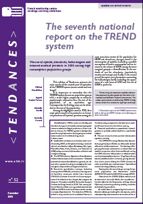 The seventh national report on the TREND system