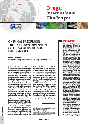 Chemical precursors, the unknown dimension of the world's illegal drug market
